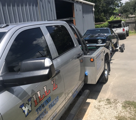 Will Z Towing - Houston, TX. We take pride in our work!