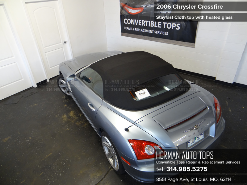 Herman Auto Tops Convertible Top Services