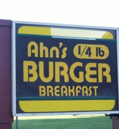 Ahn's Quarter Pound Burger - Oakland, CA