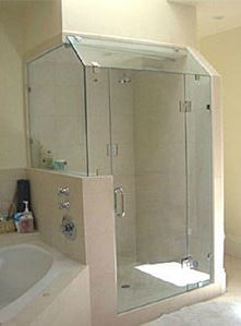 custome shower enclosure