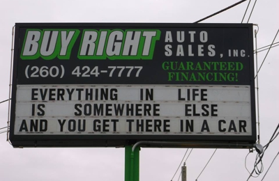 Buy Right Auto >> Buy Right Auto Sales Inc 2101 W Coliseum Blvd Fort Wayne In 46808