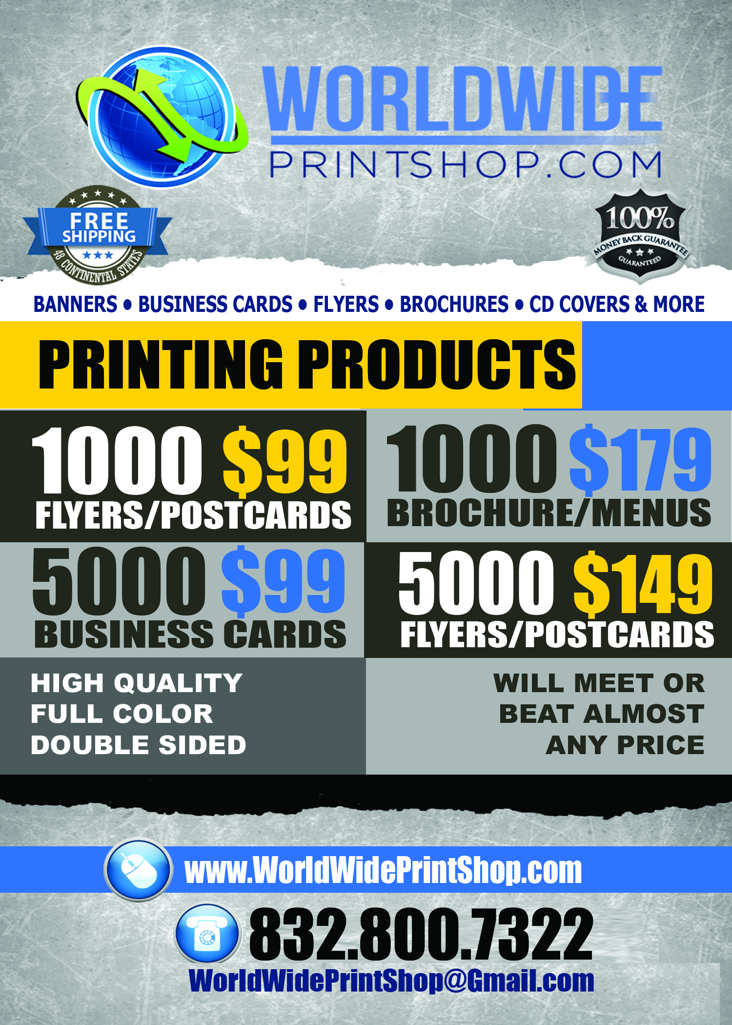worldwideprintshop houston tx yp