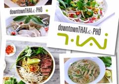 Downtown Thai & Pho - Winston Salem, NC