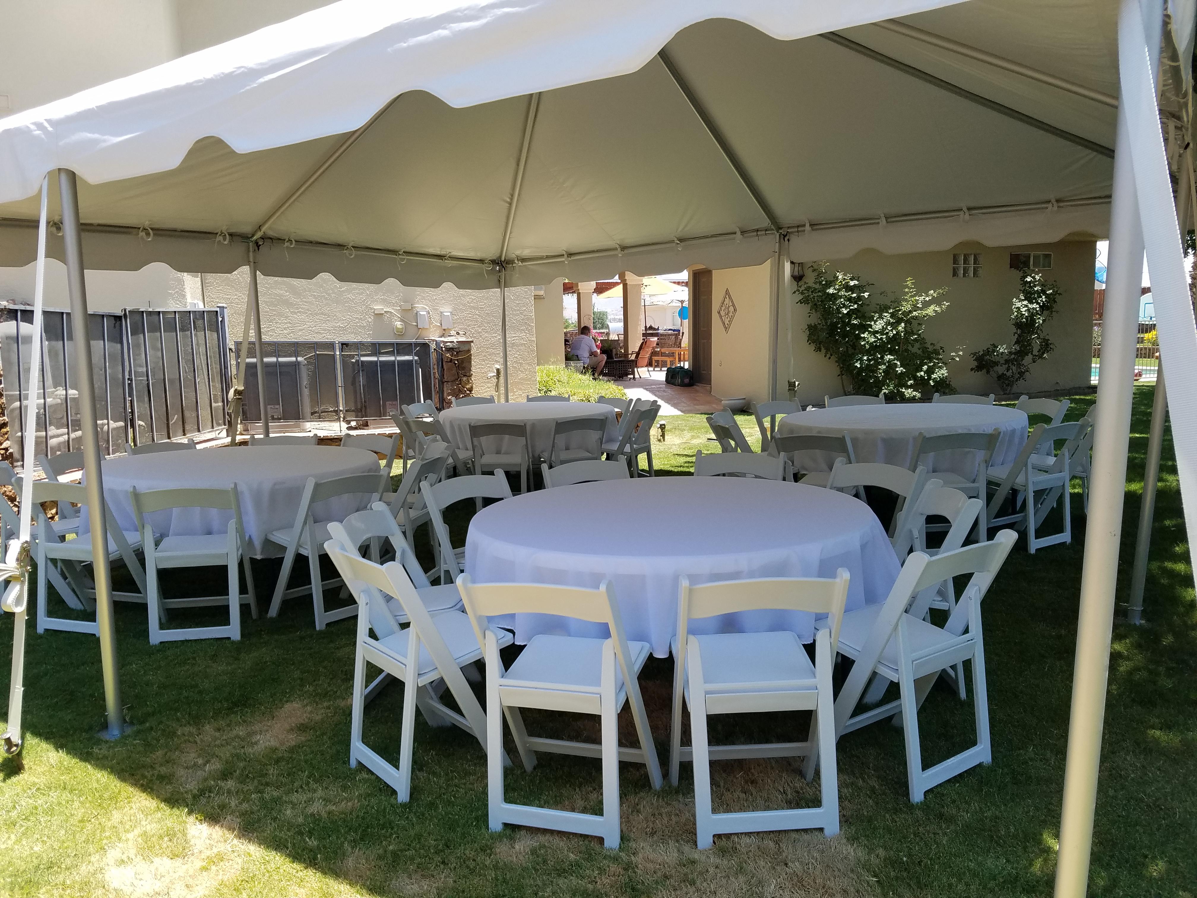 L L Tent Party Rentals Ripley Dr El Paso TX YPcom - Outdoor table tent