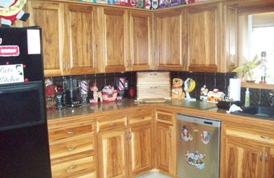 Affordable Woodworking & Refinishing - Chattanooga, TN. Custom Built Kitchen Cabinets Hickory