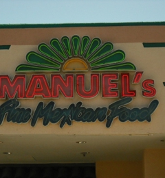 Manuel S Mexican Restaurant Tempe 2350 E Southern Ave Tempe