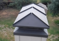 The Chimney Sweep - Wylie, TX. STANDING SEAM CUSTOM CAP