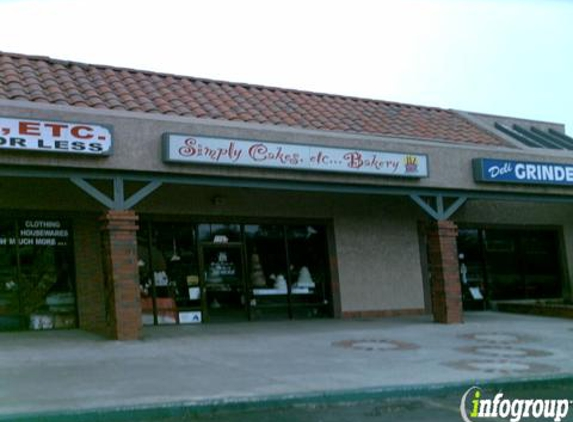 Simply Cakes Etc Bakery - Jurupa Valley, CA
