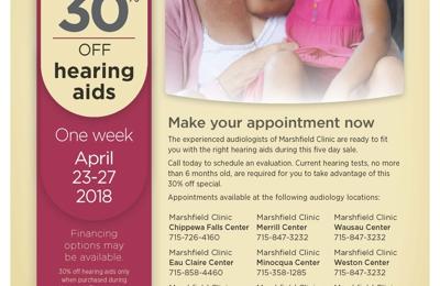 Marshfield Clinic - Menomonie, WI