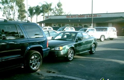 Auto Credit Sales >> Yes Auto Credit Sales Inc 5695 Holt Blvd Montclair Ca