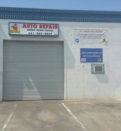 Canyon Automotive Repair - Santa Clarita, CA. Front of the business