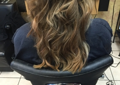 Hair Encounter - Elk Grove Village, IL. After photo work done at a different salon.