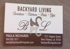 Backyard Living - New Orleans, LA