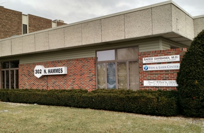 Vein & Laser Center - Dr. Saeed Darbandi - Joliet, IL. Office building on Hammes in Joliet