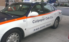 Culpeper Cab Co