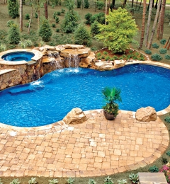 Blue Haven Pools Spas 1522 Cross Beam