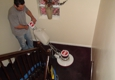 Carpet Wiser Carpet Cleaning - Elgin, IL. scrubbing my stairs