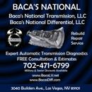 Bacas National Transmission & Differential LLC