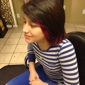 Sonya 4 Shear- Pure Elements - Rio Rancho, NM. Peek a boo color