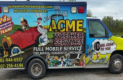 acme wrecker services - Robstown, TX. Not just a wrecker service... Wheel come too you!