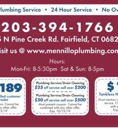 Mennillo Plumbing - Fairfield, CT