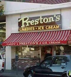 Preston's Candy & Ice Cream - Burlingame, CA