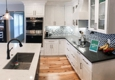 A+ Construction Pro - North Highlands, CA. Ocean Inspired Kitchen Remodel in Auburn, CA