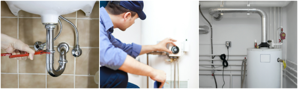 plumbing and water heater services
