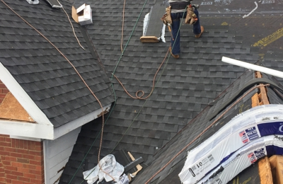 MDJ Roofing & Construction - Lawrenceville, GA. MDJ installing architectural roofing shingles