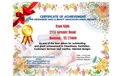 Evan Nails - Houston, TX