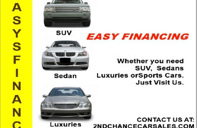2nd Chance Auto Sales, Inc. - Melfa, VA