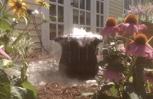 backyard fountains and waterfalls