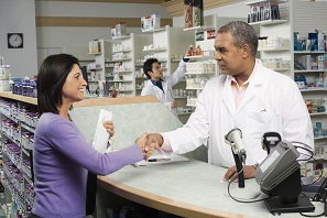 pharmacy prescription, liquor store