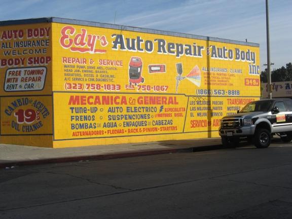 Edys Auto Repair & Auto Body - Los angeles, CA
