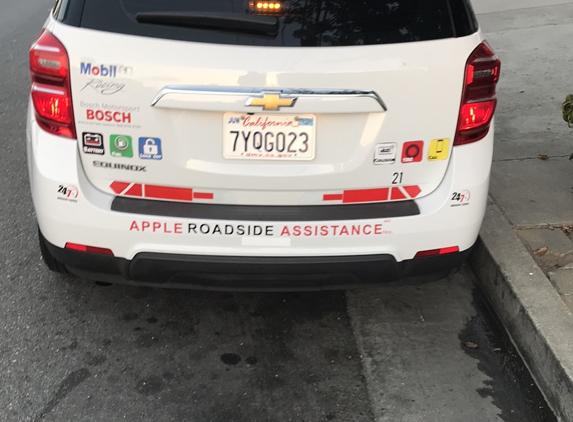 Apple Roadside Assistance - North Hollywood, CA. $75 24/7 Roadside Services