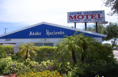 Adobe Hacienda Motel - Hollywood, FL