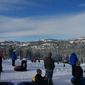 Boreal Mountain Resort. Great view, reasonable lines, super fun tube runs!