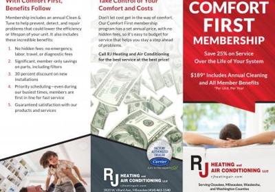RJ Heating & Air Conditioning 3820 W Villard Ave, Milwaukee, WI