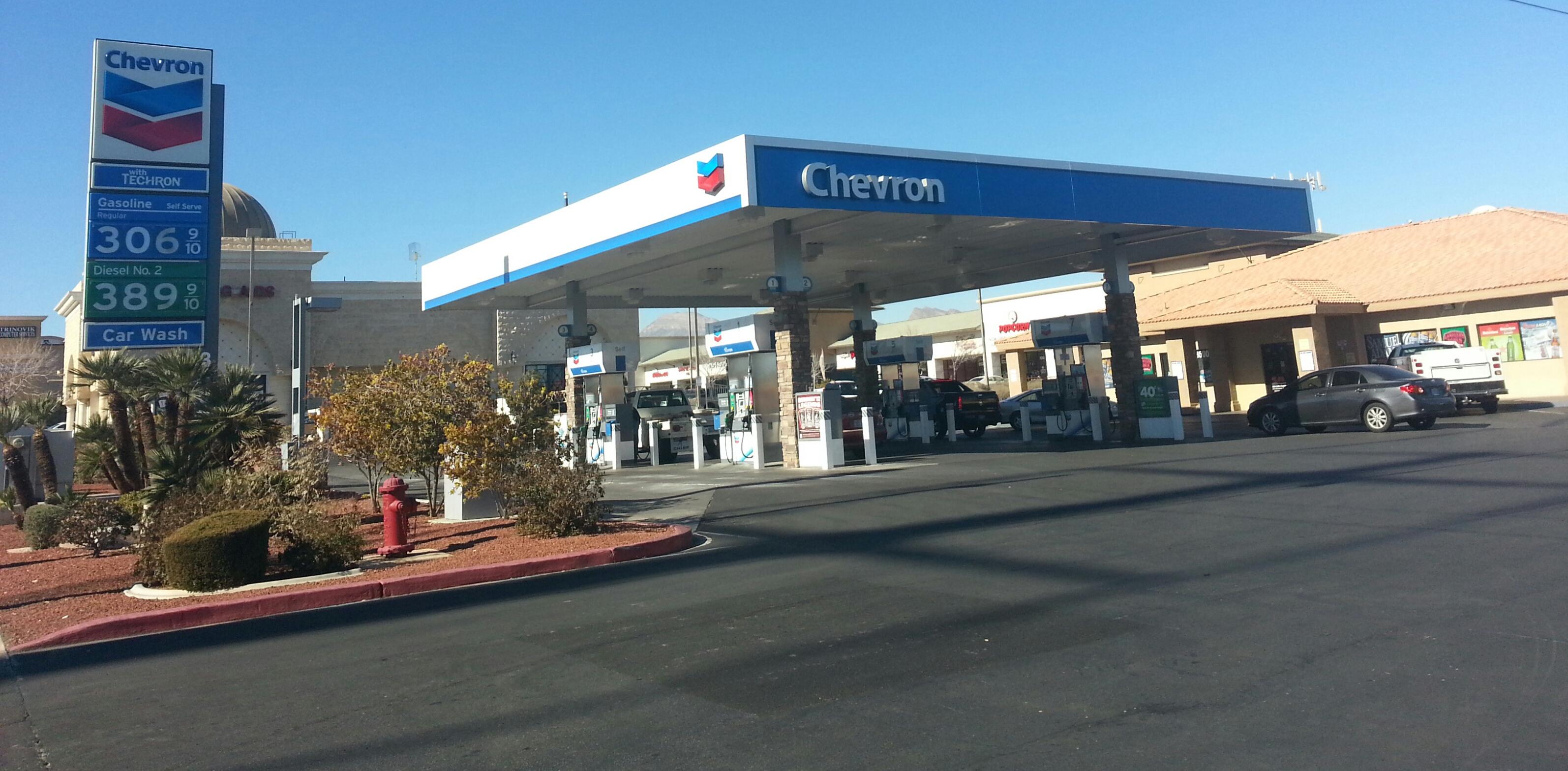 Red Rock Chevron 8500 W Charleston Blvd Las Vegas Nv 89117 Yp Com