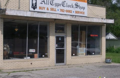 All Type Clock Shop - Indianapolis, IN