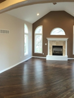 Living room. Painted all walls, trim and ceiling