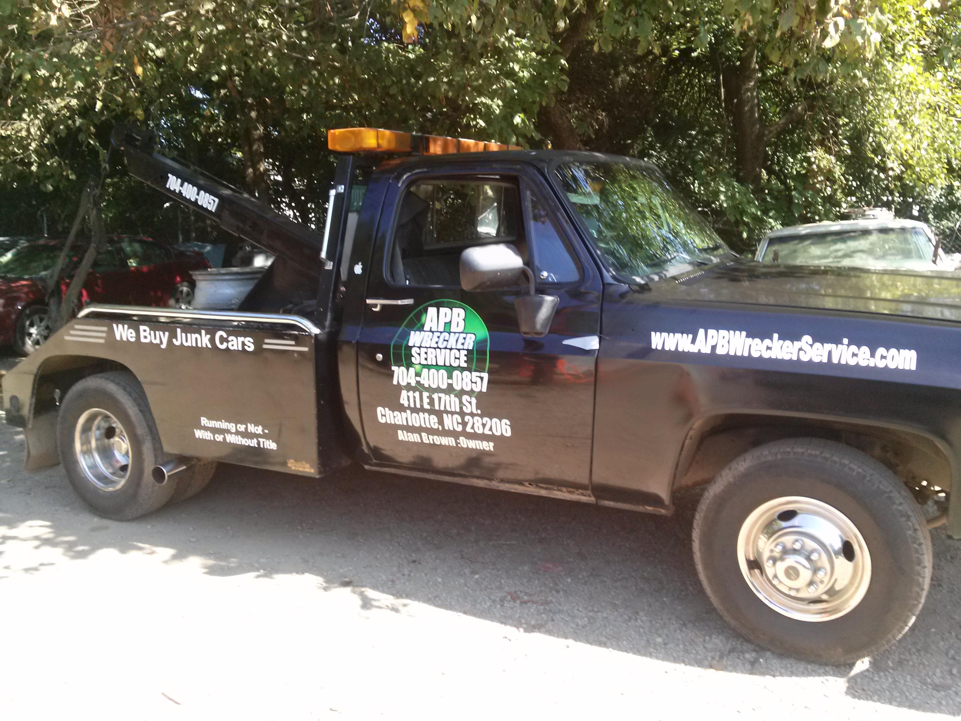 APB Wrecker Service 504 E 22nd St, Charlotte, NC 28206 - YP.com