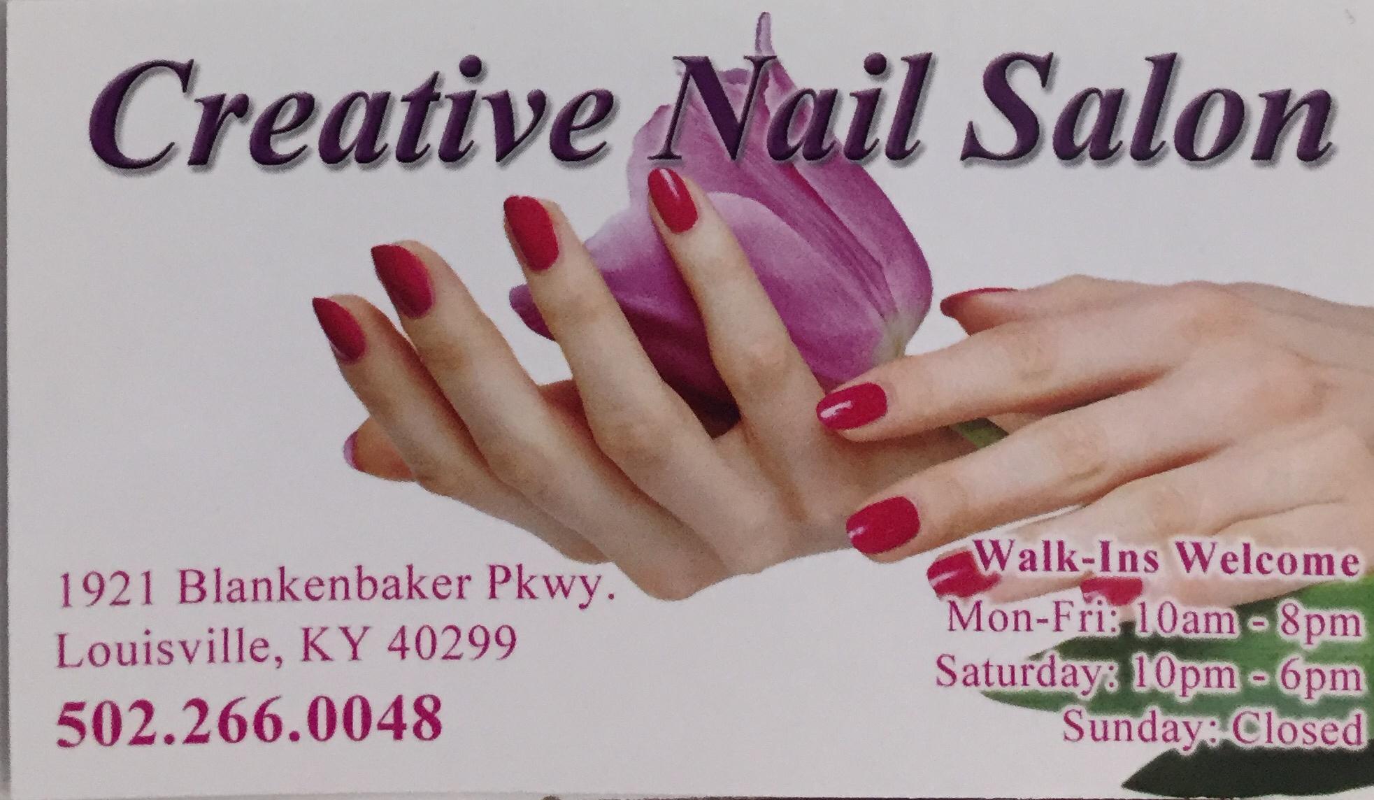 Creative Nail 1921 Blankenbaker Pkwy, Louisville, KY 40299 - YP.com