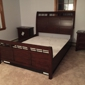 Ashbrook Furniture - Nashua, NH. This is how I found my Bed when I came back from office.