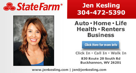 Jen Kesling State Farm Insurance Agent 830 Route 20 South Rd Buckhannon Wv 26201 Yp Com