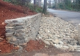 Morales Landscaping Pinestraw Services - Landscaping, Design, & Tree Service, SC. Stone retaining wall & river stone
