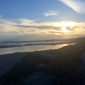 Bailey Property Management - Aptos, CA. Sunset view from our house on Beach Drive