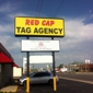 Red Cap Tag Agency - Oklahoma City, OK. Quick,fast service. Usually no wait time.