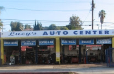 Lucy's Auto Center - Los Angeles, CA. This is the shop! Please don't give her business