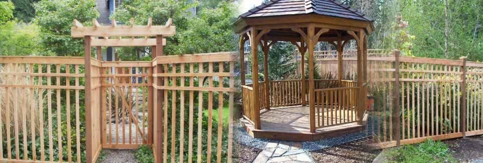 Heritage landscaping fence and deck main image